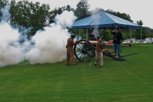 Civil War era cannon shot