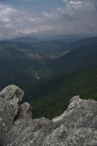Linville Gorge from Hawksbill