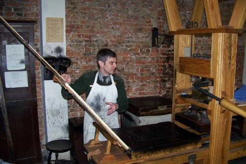 Ben Franklin's Print Shop
