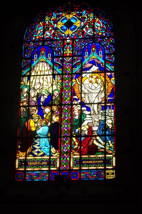 Stain Glass in Lima