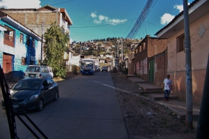 Leaving Cusco