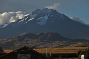Possibly Cerro de Salantay west of Cusco