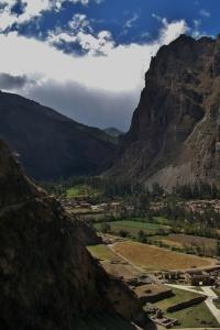 Peaks 'feel heavy' on the small valley below