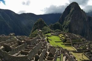 Huayna Picchu overlooks the ridgetop city