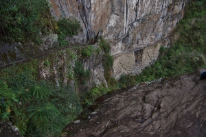 Inca Bridge-a secure gate against an enemy who never came.
