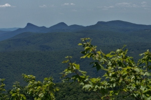 Left to Right: Table Rock, Hawksbill, Gingercake