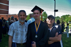 Dad, Grad, and Sib