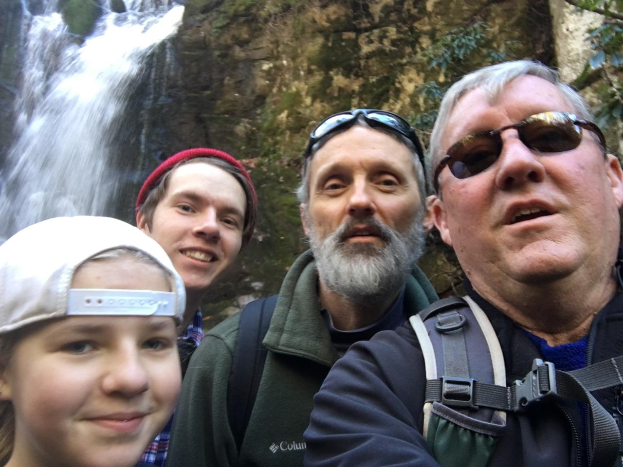 Wolf Creek Falls Selfie