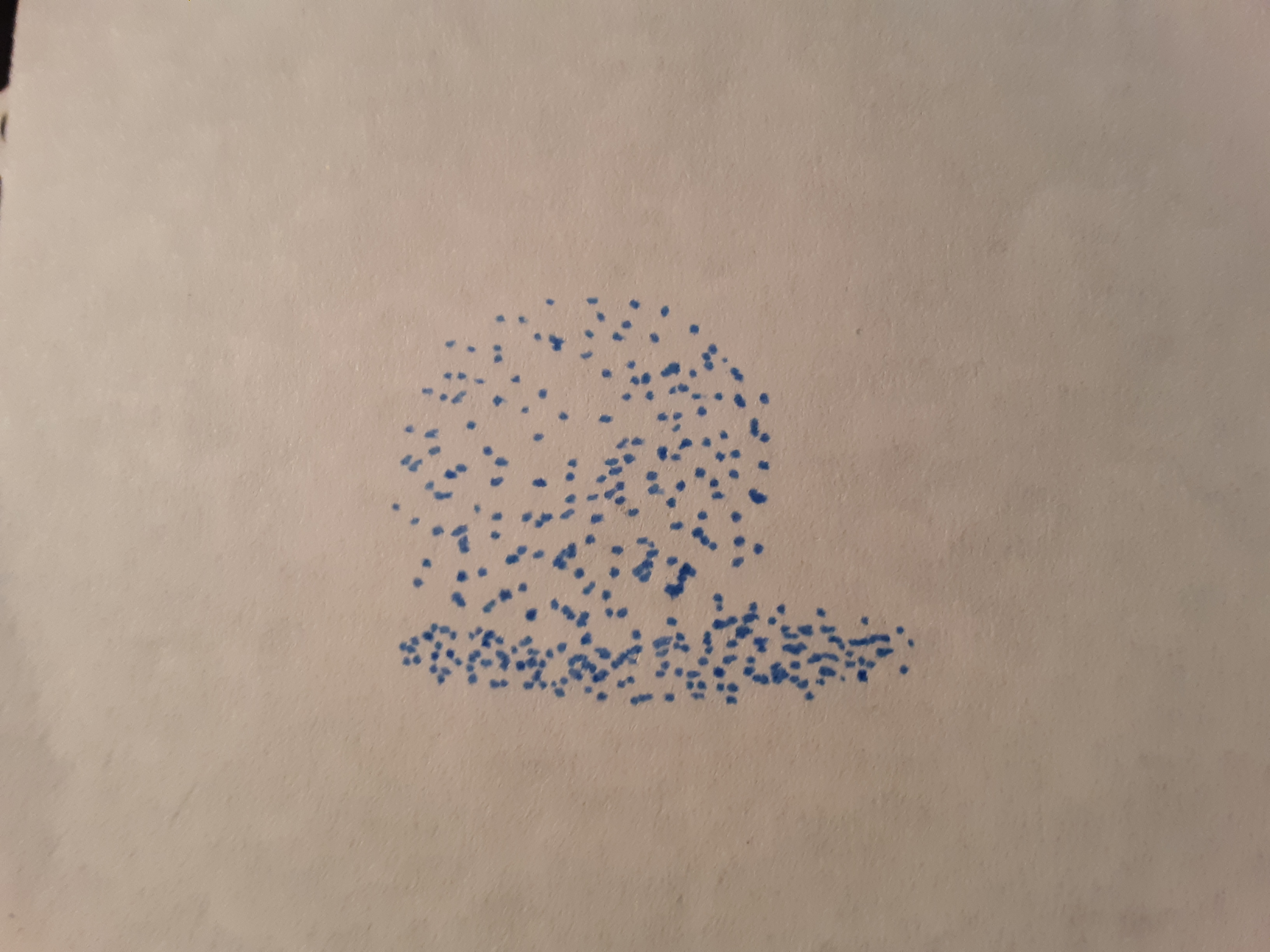 A stippling ball